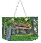 A Cabin In The Woods Weekender Tote Bag