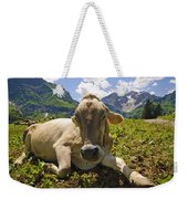 A Calf In The Mountains Weekender Tote Bag