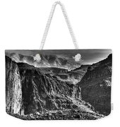 A Canyon Storm Weekender Tote Bag