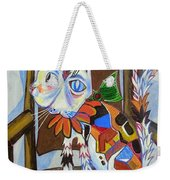 A Cat For Picasso_ Chat Et Souris Weekender Tote Bag