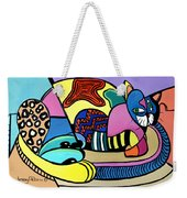 A Cat Named Picasso Weekender Tote Bag