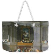 A Cavalcade In The Winter Riding School Of The Vienna Hof To Celebrate The Defeat Of The French Weekender Tote Bag