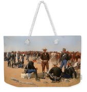 A Cavalryman's Breakfast Weekender Tote Bag