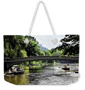 A Central Park Day Weekender Tote Bag