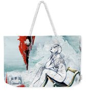 A Chair For My Heart Please - Thank You. Weekender Tote Bag
