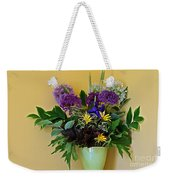 A Chanticleer Spring Bouquet Weekender Tote Bag