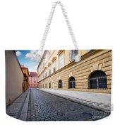 A Charming Street In Prague Weekender Tote Bag