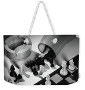 A Chess Set Weekender Tote Bag