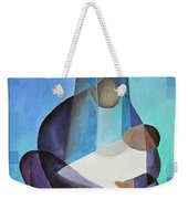 A Child Is Born Christmas Greeting  Weekender Tote Bag