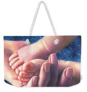 A Child Is Born Weekender Tote Bag