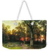 A Child Walks In A Forest Weekender Tote Bag
