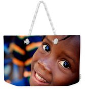 A Child's Smile Is One Of Life's Greatest Blessings Weekender Tote Bag