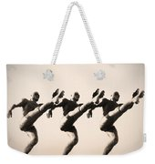 A Chorus Line Weekender Tote Bag by Bill Cannon