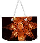 A Christmas Star Weekender Tote Bag