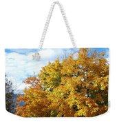 A Chromatic Fall Day Weekender Tote Bag