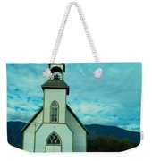 A Church In British Columbia   Weekender Tote Bag