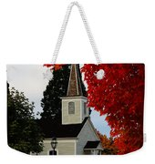 A Church In Historic Jacksonville Weekender Tote Bag