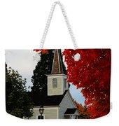 A Church In Historic Jacksonville Weekender Tote Bag