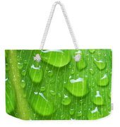 A Cleansing Morning Rain Weekender Tote Bag