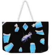 A Clockwork Blue Weekender Tote Bag