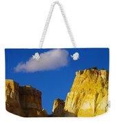 A Cloud Over Orange Rock Weekender Tote Bag
