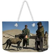 A Coalition Forces Military Working Dog Weekender Tote Bag