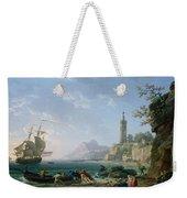 A Coastal Mediterranean Landscape Weekender Tote Bag