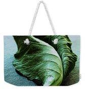 A Collard Leaf Weekender Tote Bag