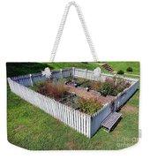 A Colonial Garden Weekender Tote Bag