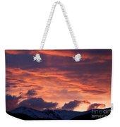 A Colorado Sunrise Weekender Tote Bag