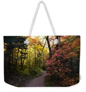 A Colorful Path  Weekender Tote Bag