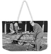 A Construction Golfer Weekender Tote Bag