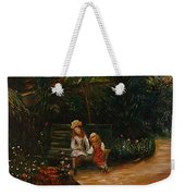 A Corner Of The Garden At The Hermitage Weekender Tote Bag