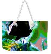 A Cosmic Butterfly Weekender Tote Bag