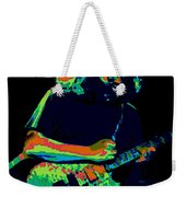 A Cosmic Cat Under The Stars Weekender Tote Bag