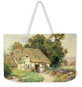 A Cottage By A Duck Pond Weekender Tote Bag