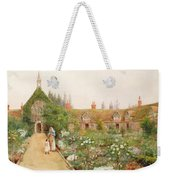 A Country Garden At Bray, Berkshire Weekender Tote Bag