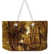 A Country Wedding Weekender Tote Bag by Charles Thomas Burt