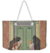 A Couple In Candlelight Weekender Tote Bag