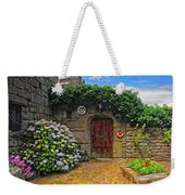 A Courtyard In Brittany France Weekender Tote Bag