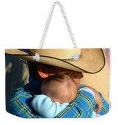 A Cowboy's Love Weekender Tote Bag