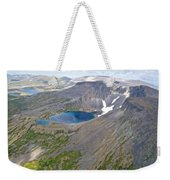 A Crater Lake From The Seaplane In Katmai National Preserve-alaska  Weekender Tote Bag