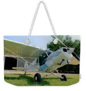 A Cub In The Grass Weekender Tote Bag