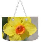 A Daffodil Hello Weekender Tote Bag