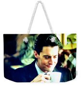 A Damn Fine Cup Of Coffee Weekender Tote Bag