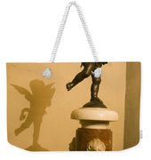 A Dancing Cupid In The Palazzo Vecchio Weekender Tote Bag