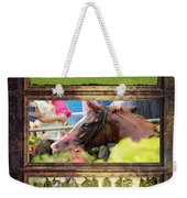 A Day At The Races Weekender Tote Bag