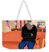 A Day At The Va Clinic Weekender Tote Bag