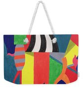 A Day At The Zoo, 1992 Weekender Tote Bag