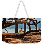a day in the Florida Keys Weekender Tote Bag